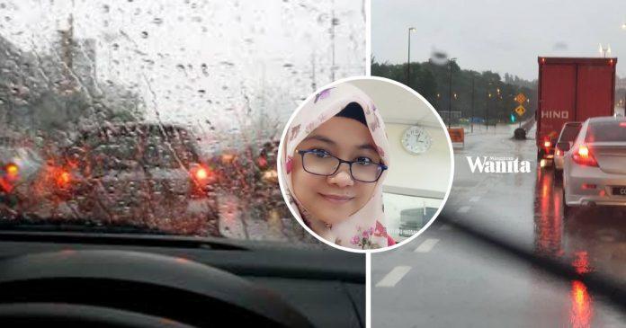 Agar Tak Berlaku Kemalangan, Ini Tip Memandu Ketika Hujan