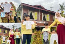 Kerana PKP Suami Di Sarawak, Tabahnya Ibu Bakal Melahirkan Anak Keenam Sendirian