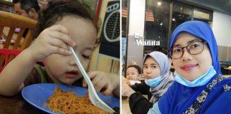 'Patutlah Di Rumah Tak Mahu Disuap' Teruja Ibu, Anak 2 Tahun Pandai Makan Sendiri