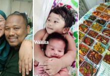 Bangun Seawal Subuh, Enam Jam Masak 30 Bekas Lauk Frozen Untuk Keluarga