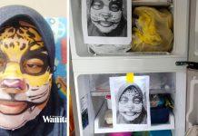Berkat Gambar Maklong Rimau, Dah 2 Hari Anak Tak Buka Tutup Peti Ais