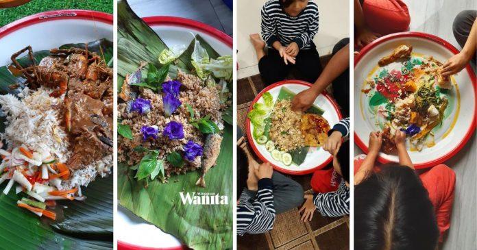 2 Bulan Makan Dalam Talam, Kekadang Makanan Sikit Ajaibnya Tetap Cukup
