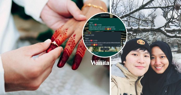 Lelaki Ini Kongsi Cara Simpan Duit Kahwin, Guna Aplikasi WhatsApp