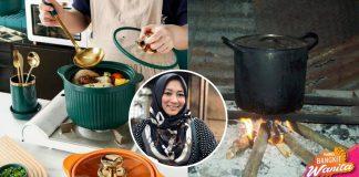 Asal IKHLAS Rajin Ke Dapur Masak, Tiada Periuk Cast Iron Pun Takpe
