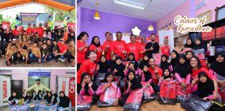 Meriah! redONE Bersama Mingguan Wanita, Santuni Anak-Anak Yatim & Asnaf