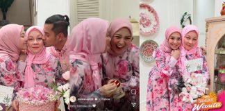 Dapat Rezeki Lebih, Mawar Rashid Hadiahkan Set Cincin Gelang Pada Ibu Mentua