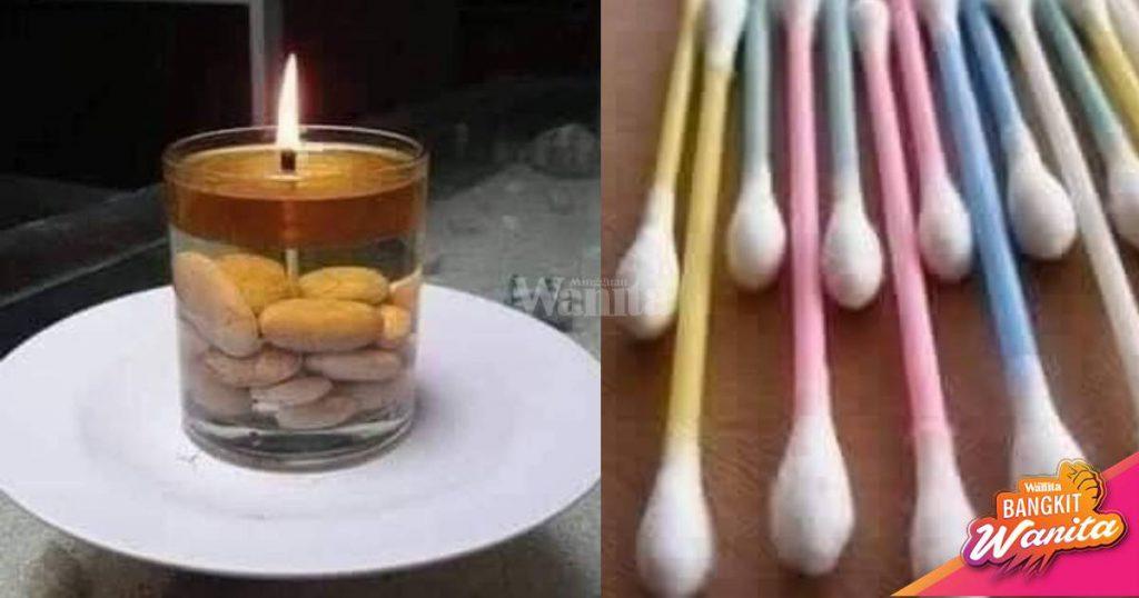 Lampu Mati Atau Tiada Elektrik, Buat LILIN Sendiri Tahan ...